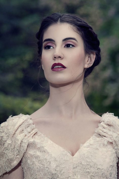 maquillaje de novia beauty sombra rosa