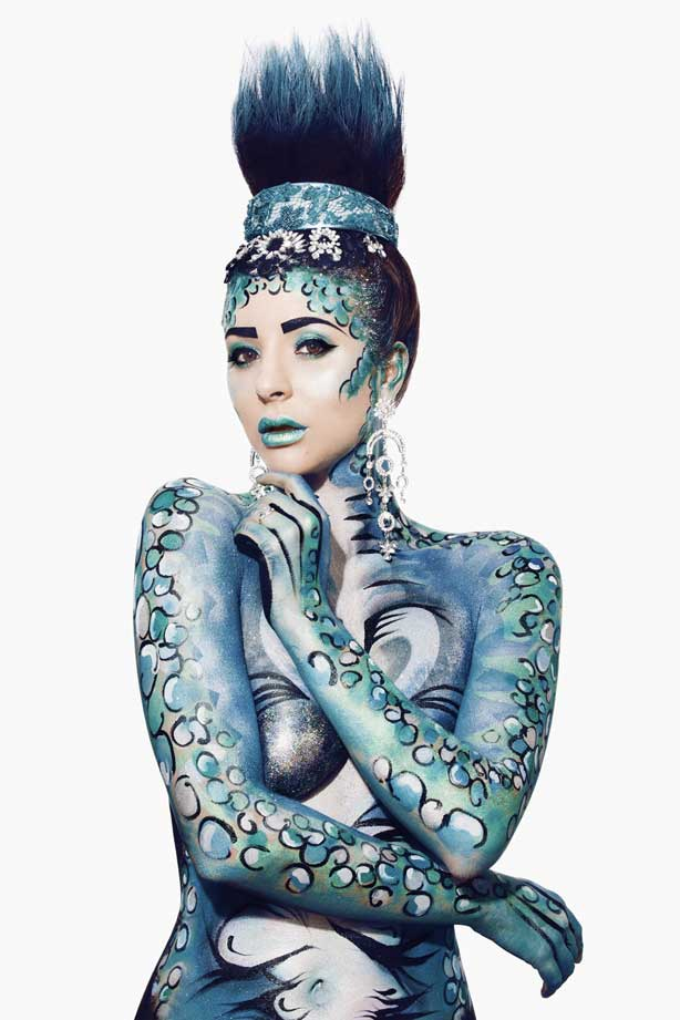 Body Paint mujer