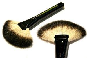 brocha de maquillaje de pelo de ardilla