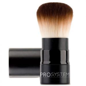 Brocha de maquillaje de pelo pahmi o sabeline