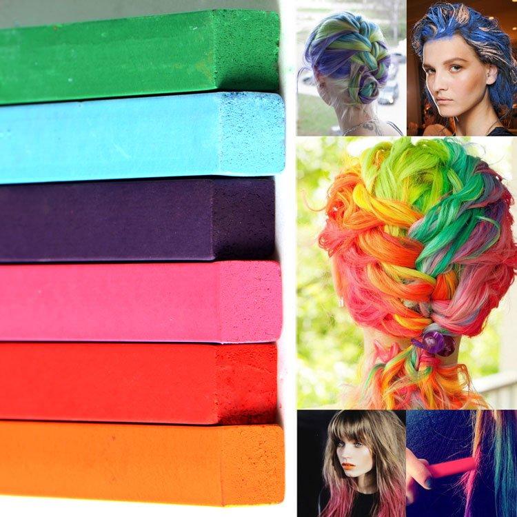7749d22ce Tizas para el pelo, Hair Chalk: Tipos y formas | Mery makeup
