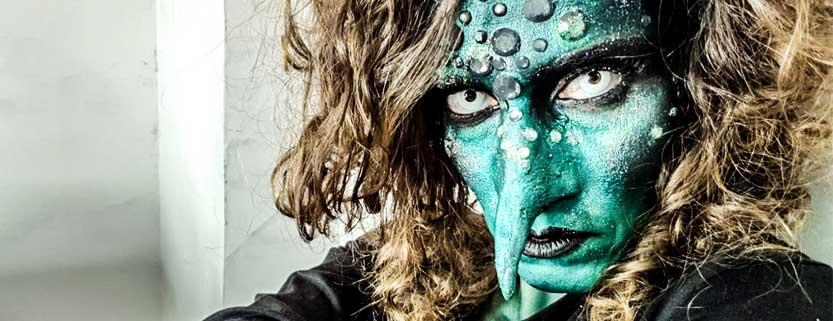 Maquillaje de Halloween: Bruja