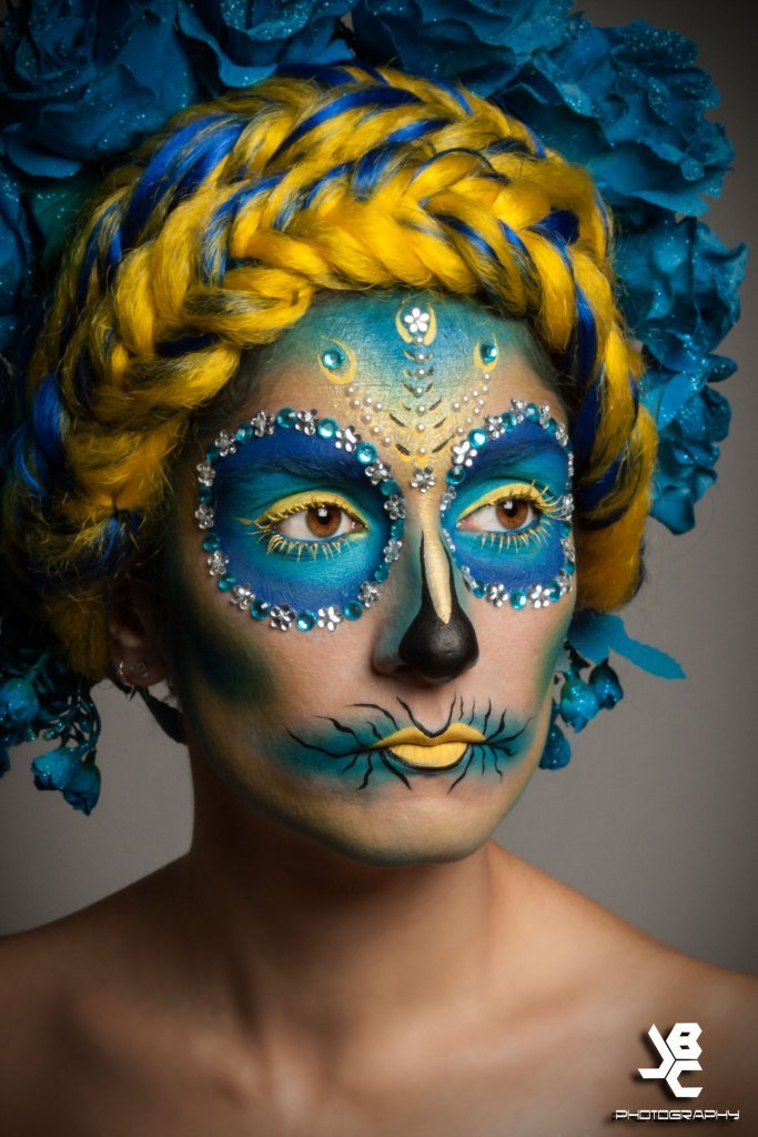 Maquillaje De Carnaval Paso A Paso Catrina Mery Makeup