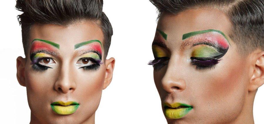 maquillaje carnaval drag queen