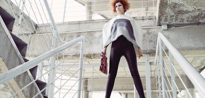 Maquillaje MERY Make-up y firma de moda IS mallas