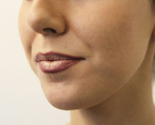 labios degrade final perfil