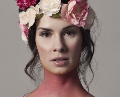 Trends Flower maquillaje creativo