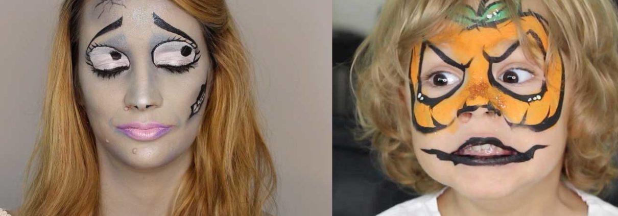 Maquillaje para Halloween adulto y niño