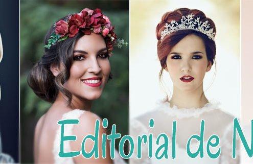 Maquillaje editorial en novias