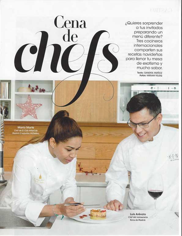 Cena de Chefs