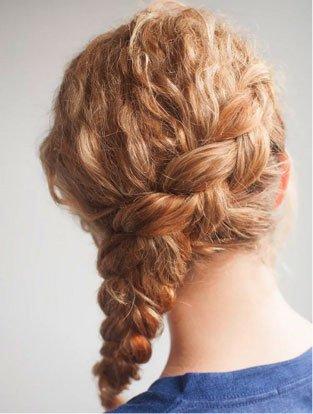 Peinados Fáciles Para Pelo Rizado Mery Makeup