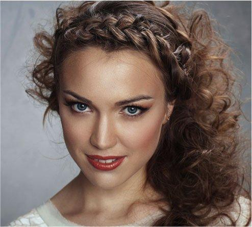 Peinados Faciles Para Pelo Rizado Mery Makeup