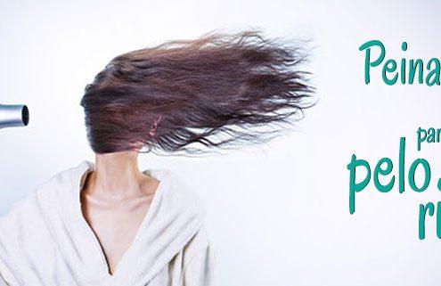 Peinados fáciles para pelo rizado