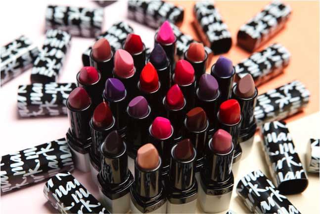Maquillaje de Avon, labiales Mark.