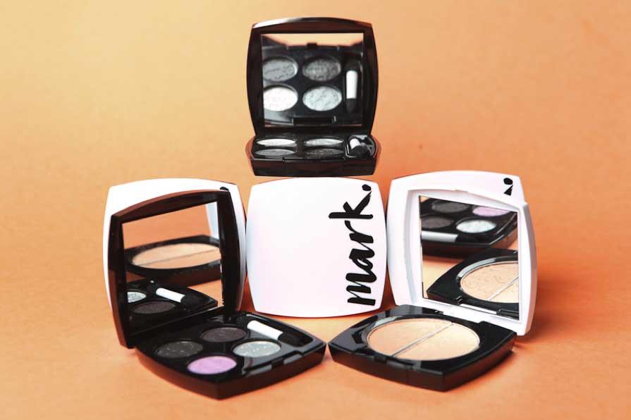 Maquillaje de Avon, sombras Mark.